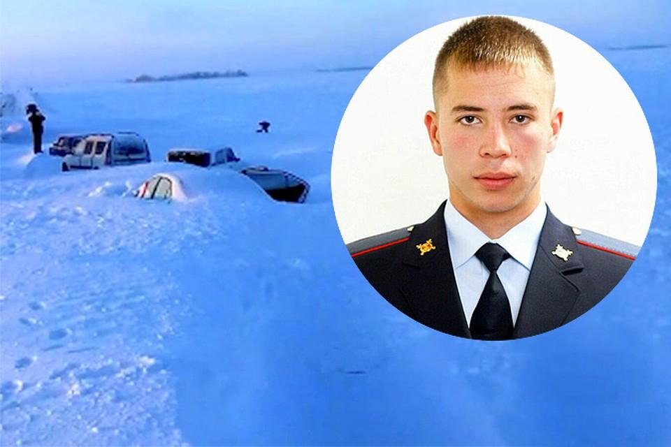 Полицейский Данил Маскудов, пожертвовавший своей одеждой ради спасения замерзающих людей, может остаться без руки