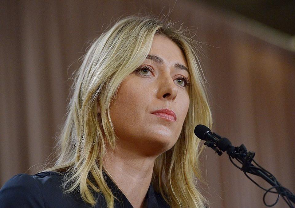 Шарапова заявила, что провалила допинг-тест на специальной пресс-конференции