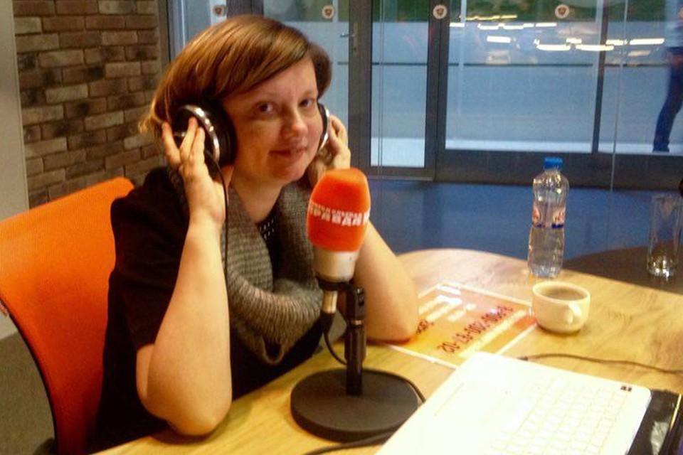 Алена Владимирская отвечает на вопросы слушателей Радио «Комсомольская правда» в эфире программы «Кадры решают»