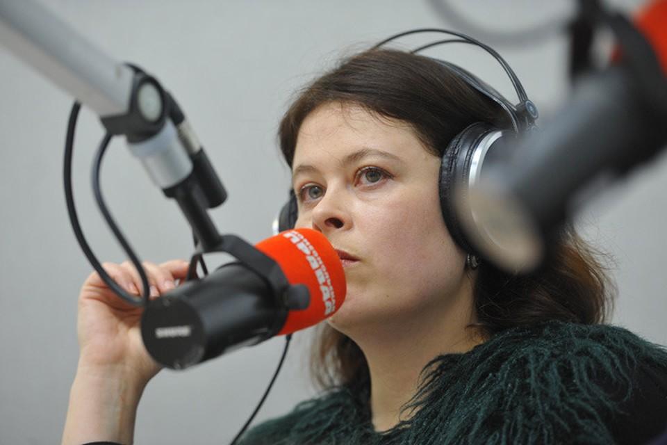 Ульяна Скойбеда проводит своё расследование в эфире Радио «Комсомольская правда»