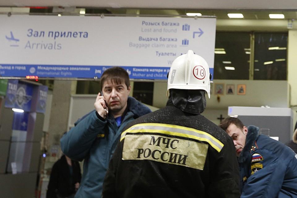 В ночь на субботу под Ростовом разбился пассажирский «Боинг-737». Фото: Валерий Матыцин/ТАСС