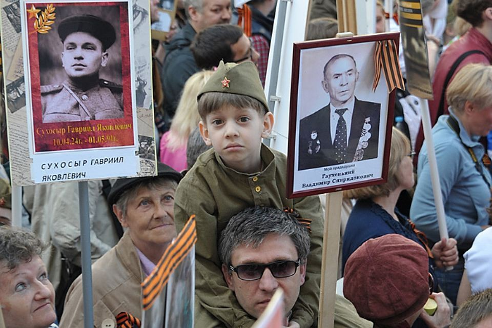 В этом году «Бессмертный полк» снова пройдет по Тверской.