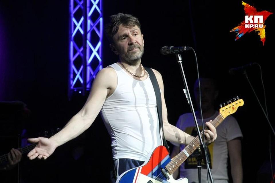 Сергей Шнуров матерился в Новосибирске как в последний раз.