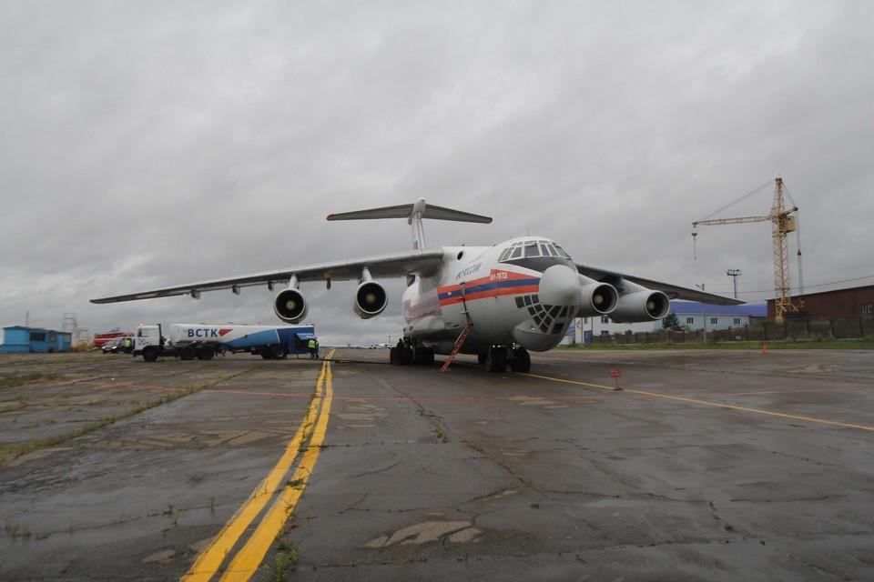 Уголовное дело заведено по факту происшествия с самолетом Ил-76 в Иркутской области