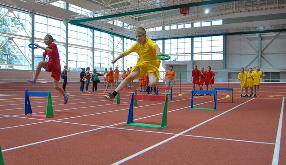 Детская спортивная школа, открытая на базе университета физкультуры, - это база подготовки для будущих чемпионов и будущих тренеров.