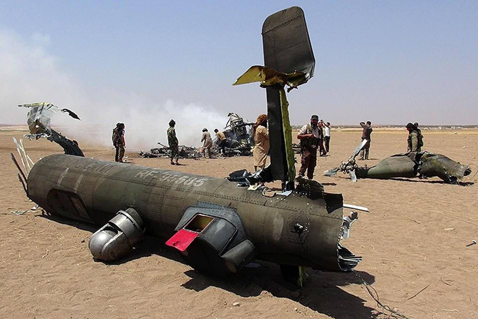 Ми-8 стал третьим российским вертолетом, потерянным в Сирии Фото: EASTNEWS/AFP