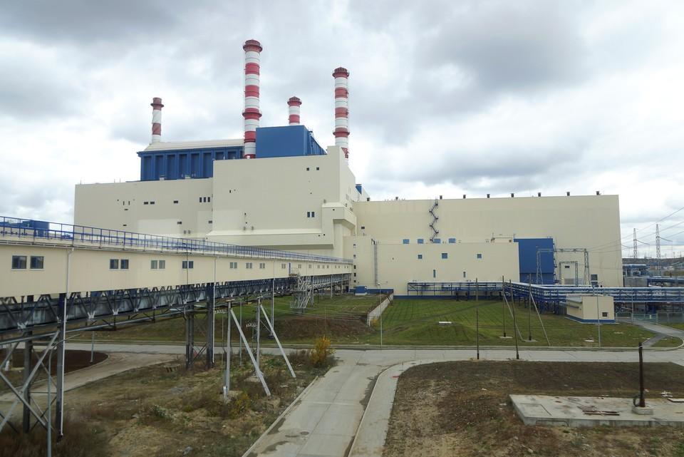 На фото Белоярская АЭС, которая находится в Свердловской области