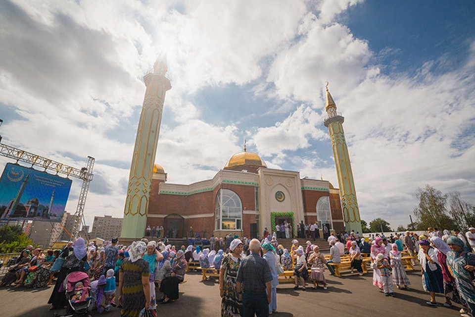 В Ижевске состоялось торжественное открытие Центральной мечети, построенной при поддержке Благотворительного фонда «САФМАР».