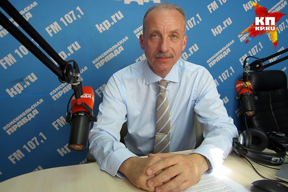 Константин Бочаров, председатель краевой избирательной комиссии