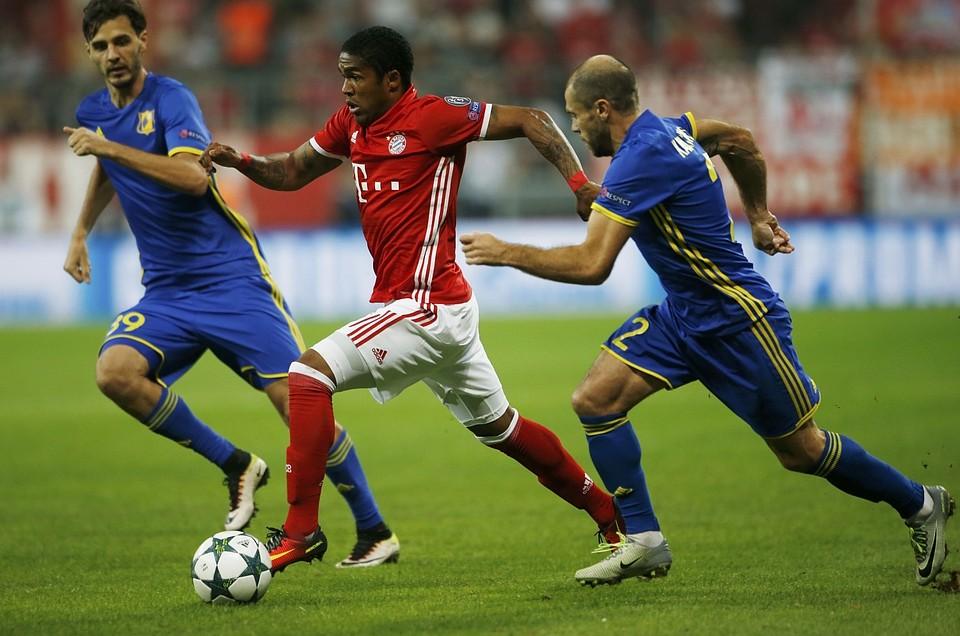 Бавария ростов футбол 13 09 16 счет