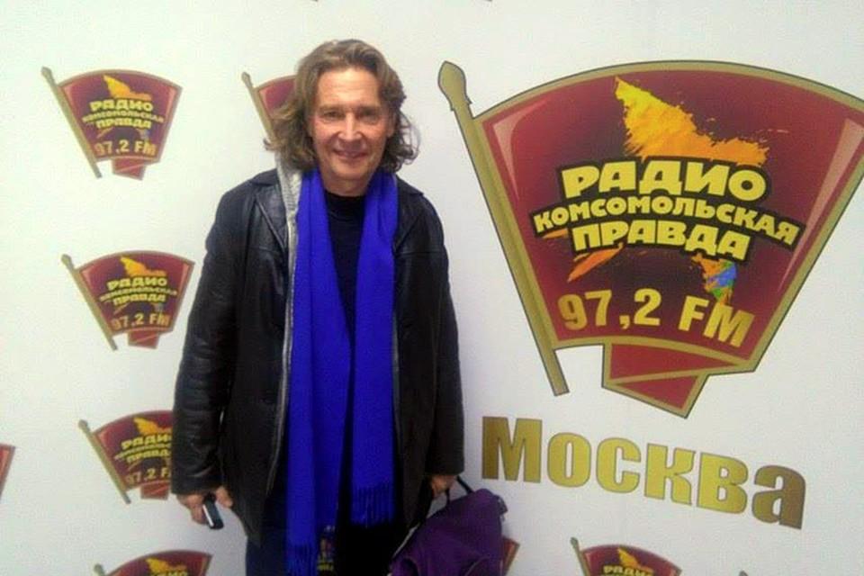 Художник и писатель Валерий Бочков в гостях у Радио «Комсомольская правда»
