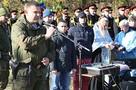 Захарченко над могилой Моторолы: Когда мы возьмем Славянск, поставим памятник Мотору. Обещаю!