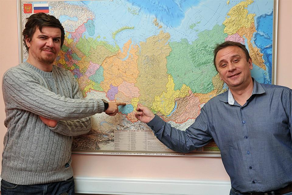 Виктор Гусейнов (слева) и Владимир Ворсобин следующий месяц проведут в вагонах электричек.