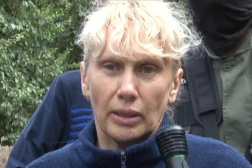 Инесса Тарвердиева вернулась на место преступления, подробно рассказав следователям подробности убийств. Фото: оперативная съемка
