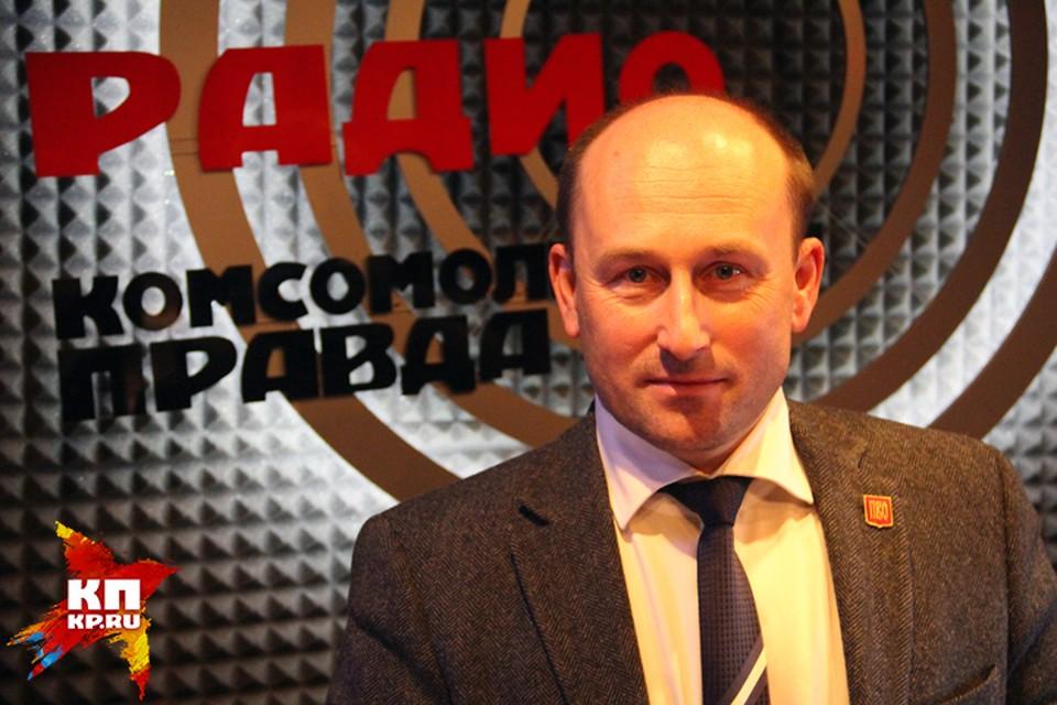 Николай Стариков - не редкий гость в студии Радио «Комсомольская правда».