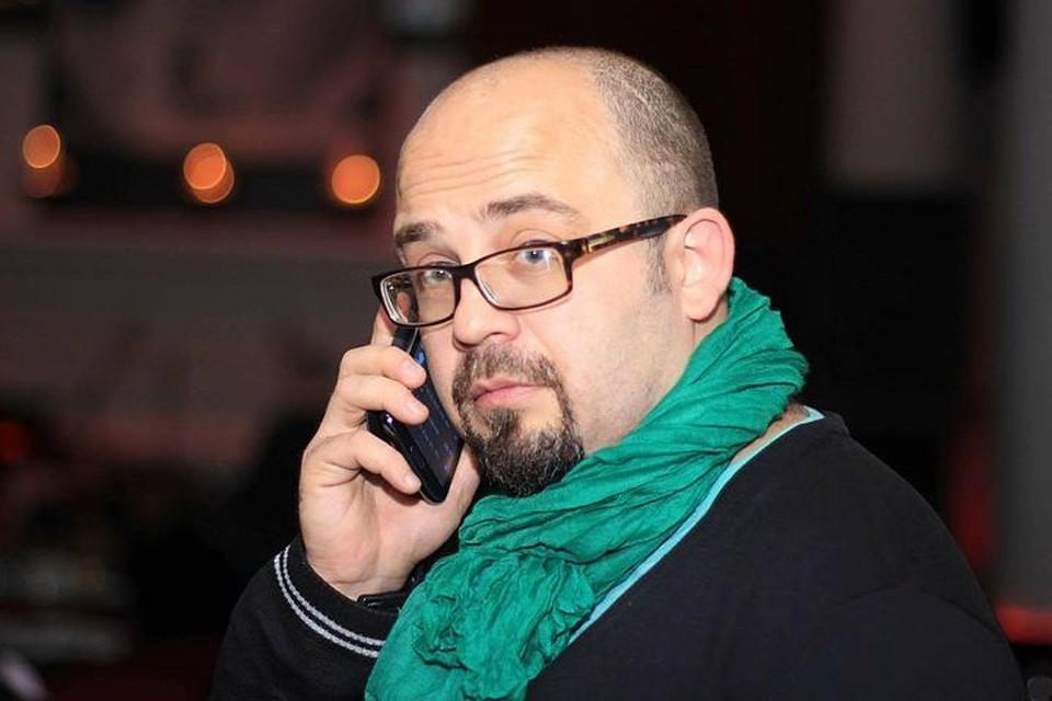 Писатель Олег Жданов