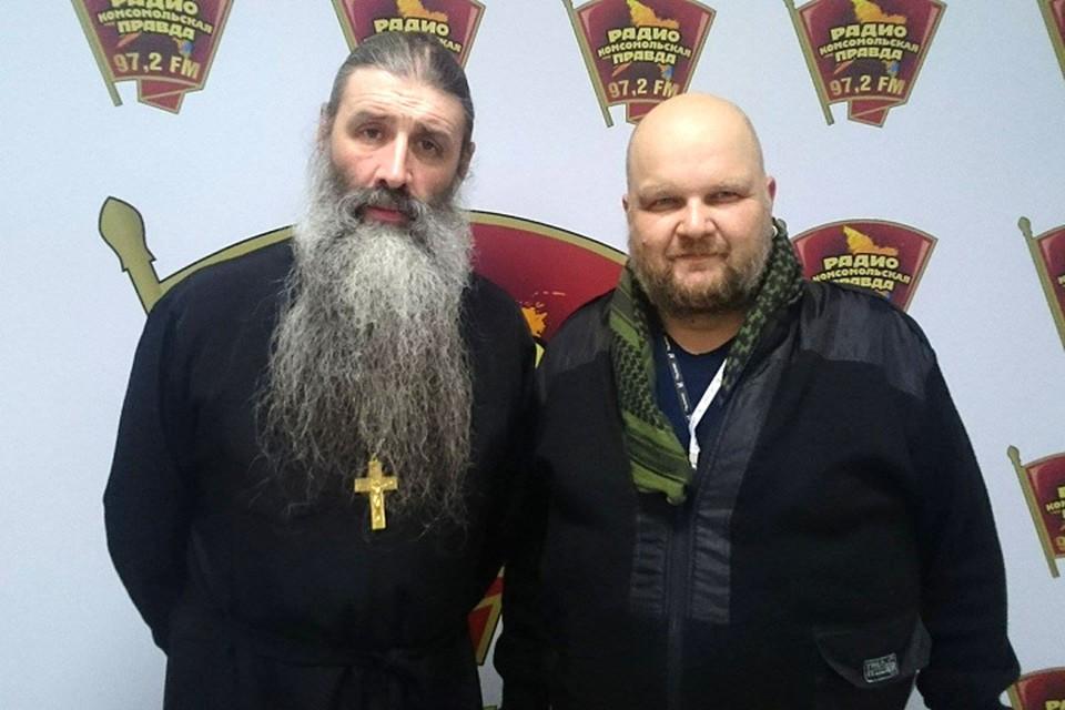 Отец Максим Первозванский, протоиерей в гостях у Дмитрия Широкова на Радио «Комсомольская правда»