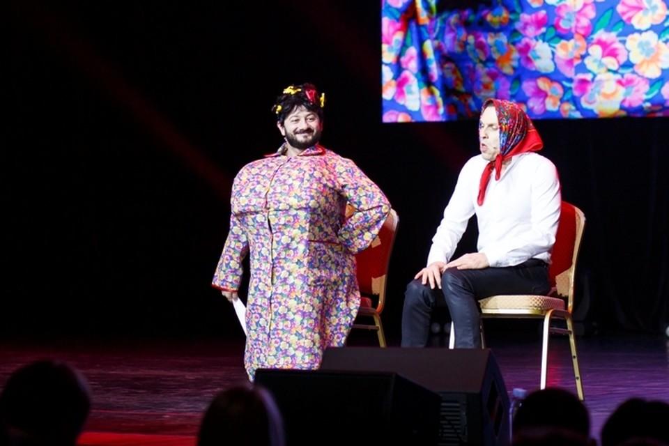 Галустян и Ревва вышли на сцену с получасовой задержкой и старыми номерами.