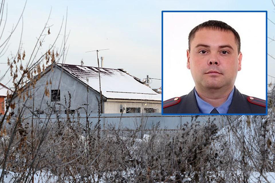 На начальника полиции города Отрадный напали в его доме в селе Смышляевка.