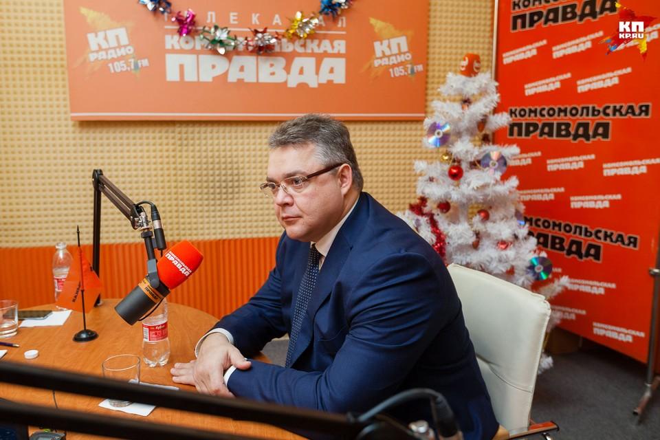 Губернатор Ставропольского края Владимир Владимиров