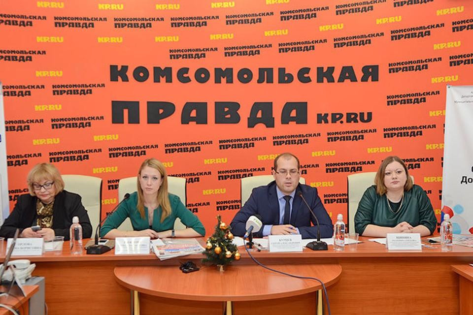 В пресс-центре «Комсомольской правды» юные газетчики и телевизионщики подвели итоги уходящего года.