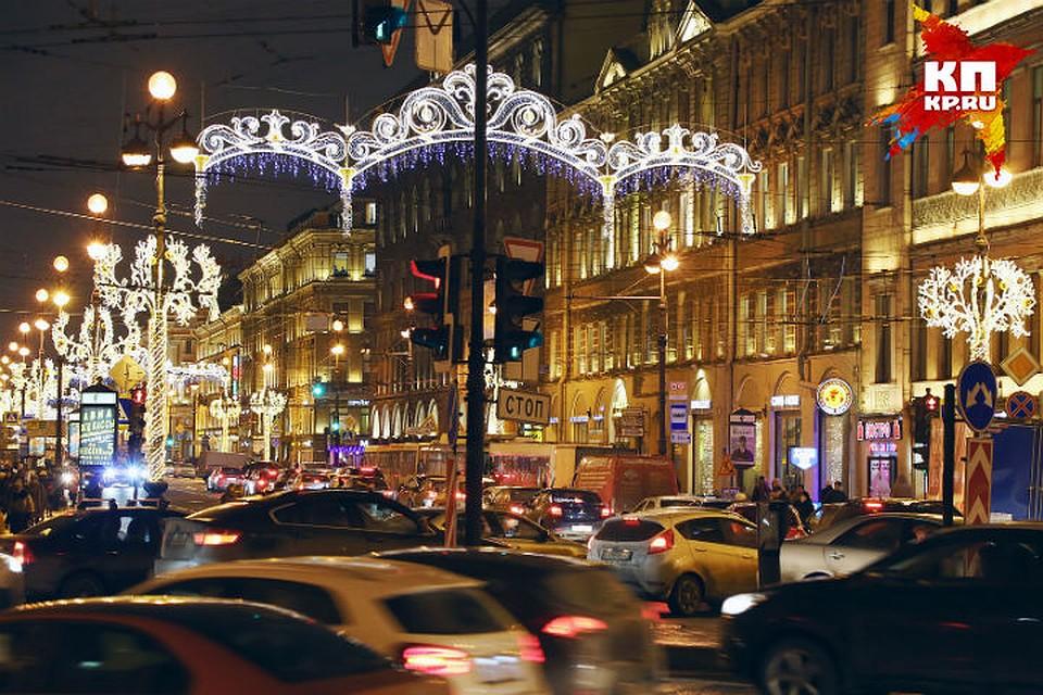 Новогодние украшения с улиц Петербурга уберут в ночь с 14 на 15 января de134a279f5