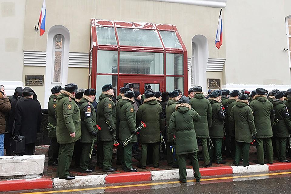 Центральный военный оркестр Минобороны России проводил в последний путь своего дирижера и наставника