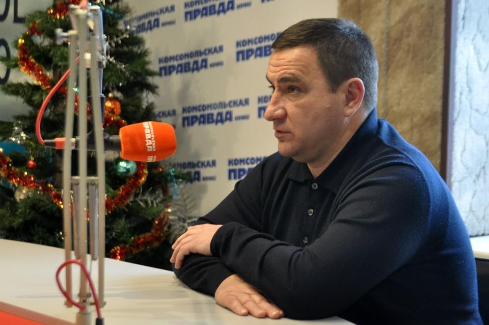 """Андрей Ростенко на радио """"КП""""."""