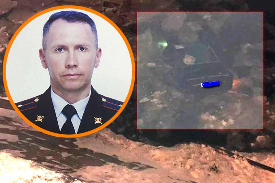 Капитан полиции Алексей Коняев бросился в ледяную воду и спас женщину из тонувшего авто.