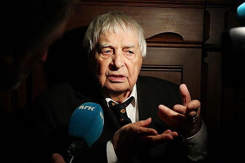 В этом году Юрию Любимову исполнилось бы 100 лет.