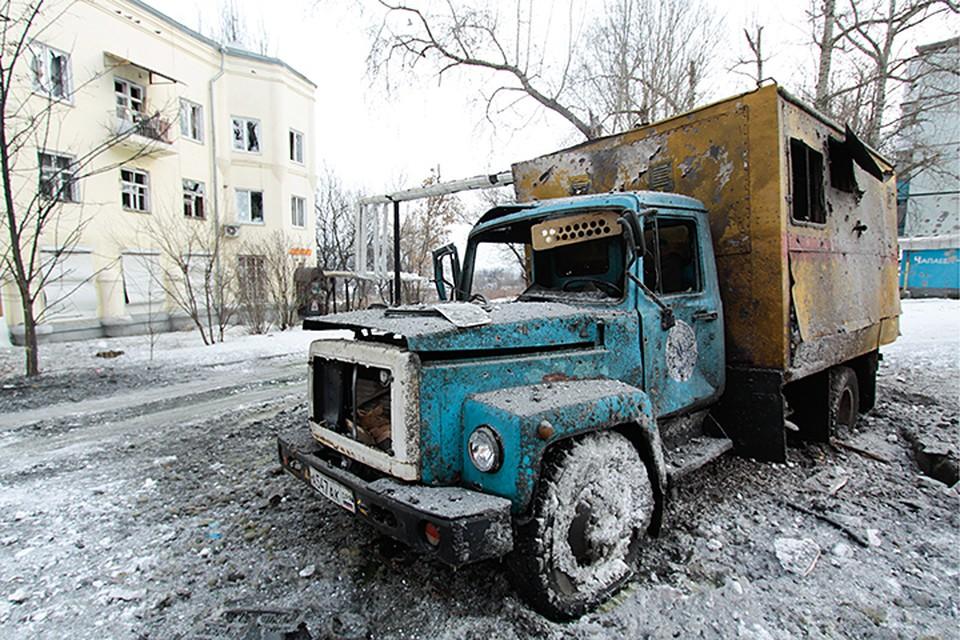 За последние дни в плане опасности для жизни Донецк откатился к началу 2015 года. Фото: Валентин Спринчак/ТАСС