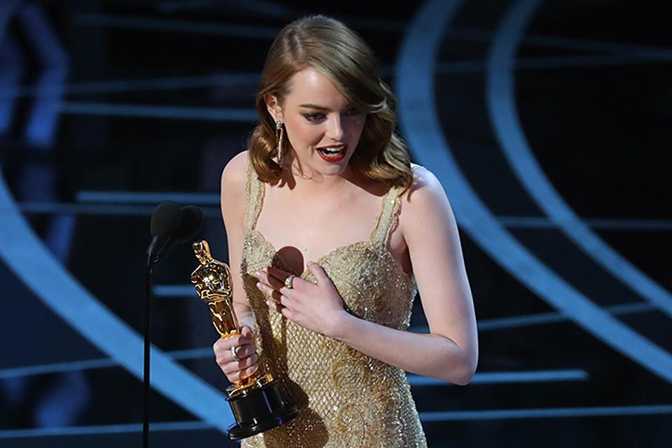 Эмма Стоун - героиня этого года благодаря