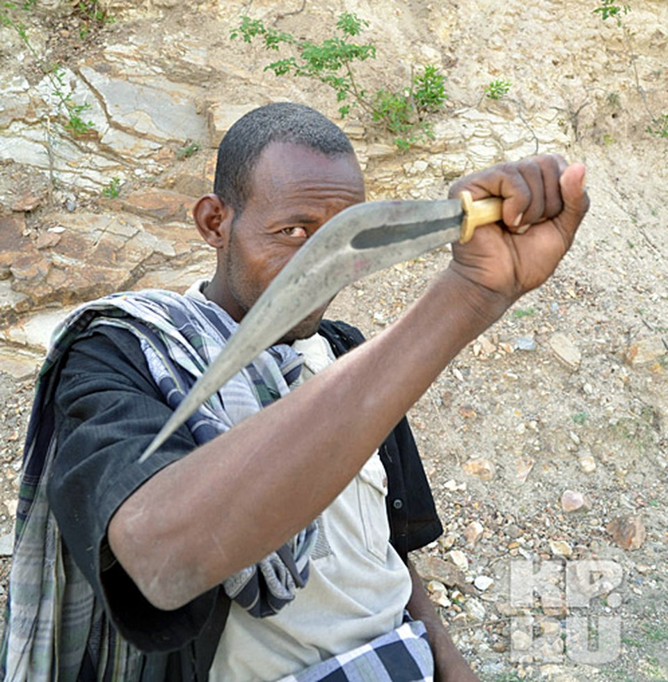 Амхарский традиционный нож