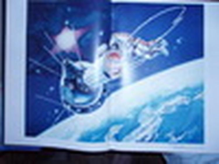 Кузбасский космонавт Алексей Леонов написал главную картину в своей жизни