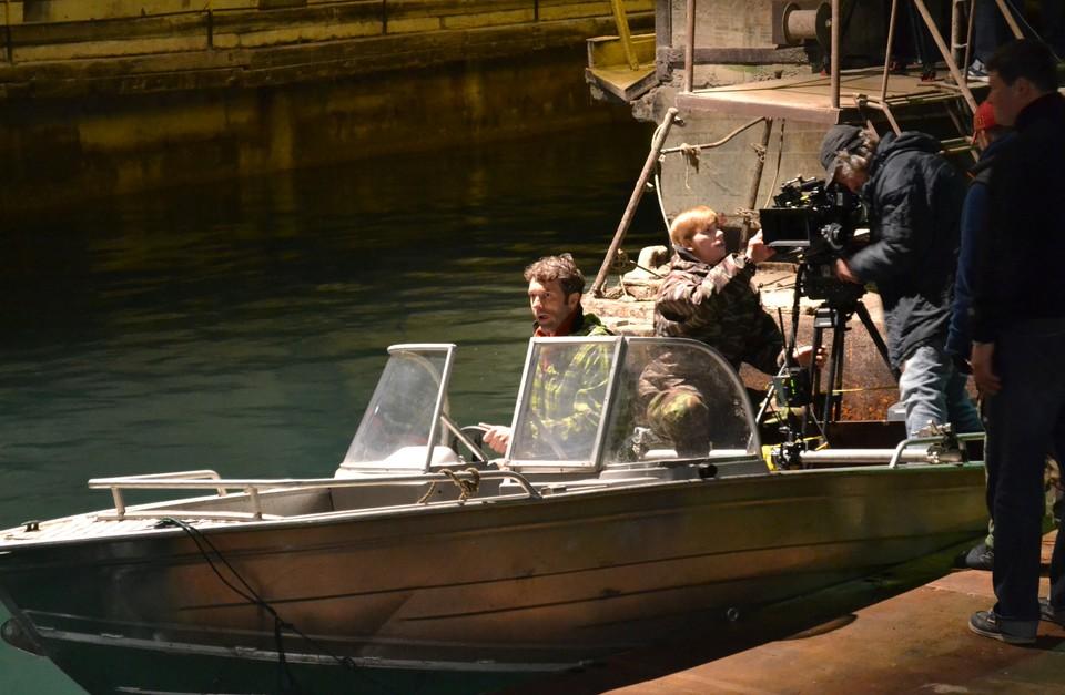 Съемки фильма «Крым»