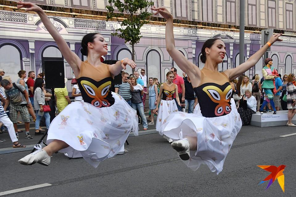 В Москве прошли гуляния по случаю Дня города