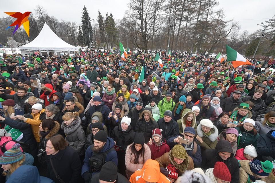 В Москве отметили День святого Патрика
