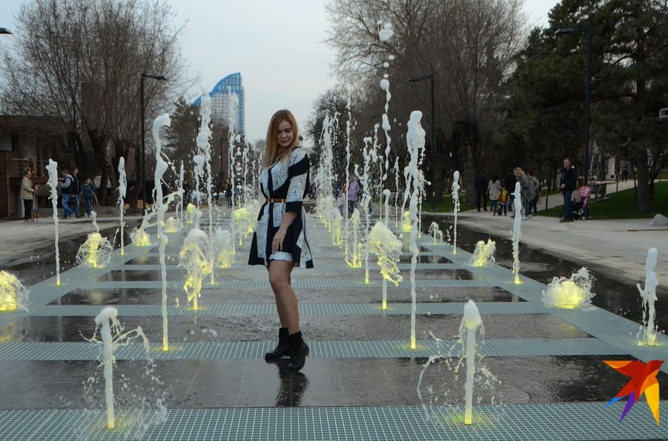 На набережной Волгограда скоро заработает новый сухой фонтан