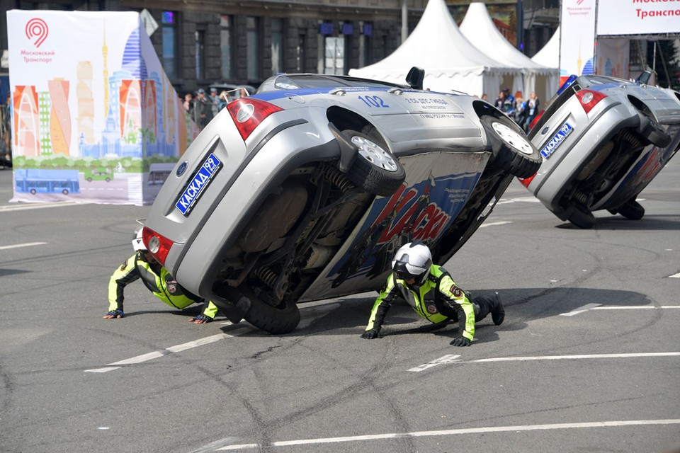 День транспорта в Москве