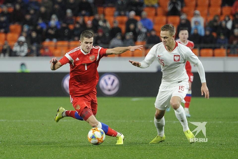 Отборочный матч к ЧМ2021 среди молодежных сборных: Россия 2-2 Польша