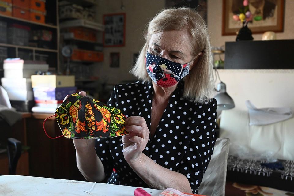 Ростовские рукодельницы шьют красивые антивирусные маски