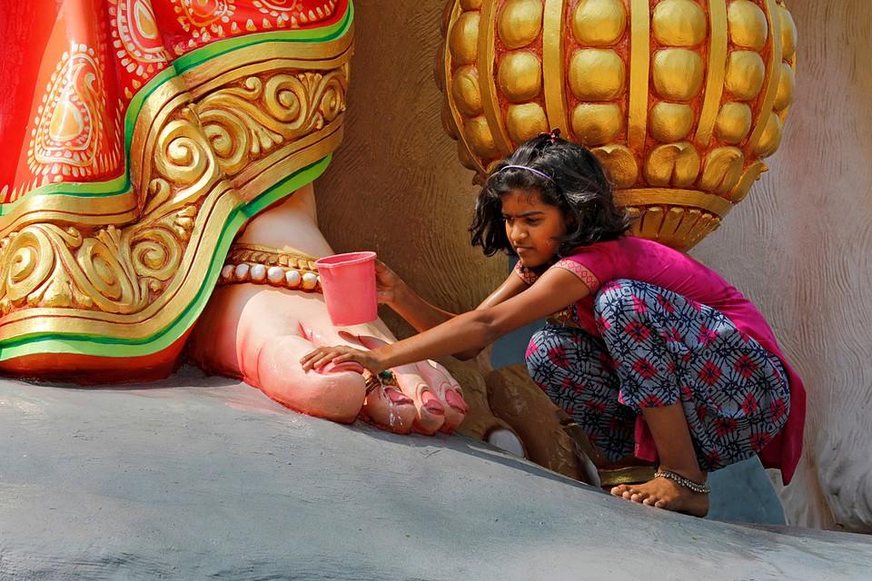 Индия готовится к крупнейшему фестивалю индуизма Дурга-пуджа