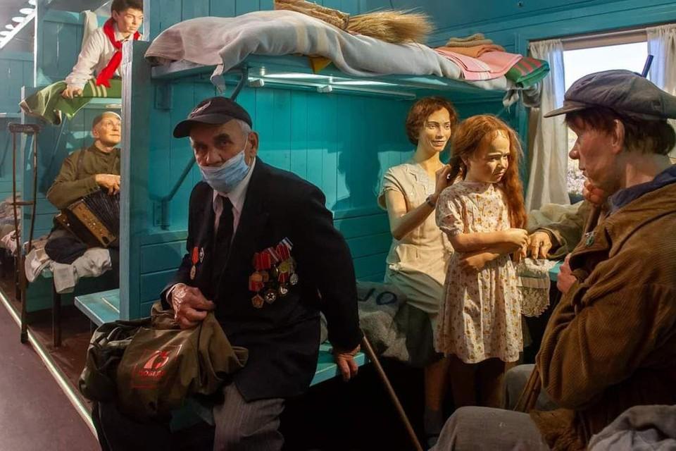 Уникальный иммерсивный музей «Поезд Победы» прибыл в Санкт-Петербург
