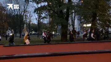 В Минске силовики применили спецсредства на акции протеста