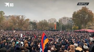 Протестующие в Ереване требуют отставки премьера Пашиняна