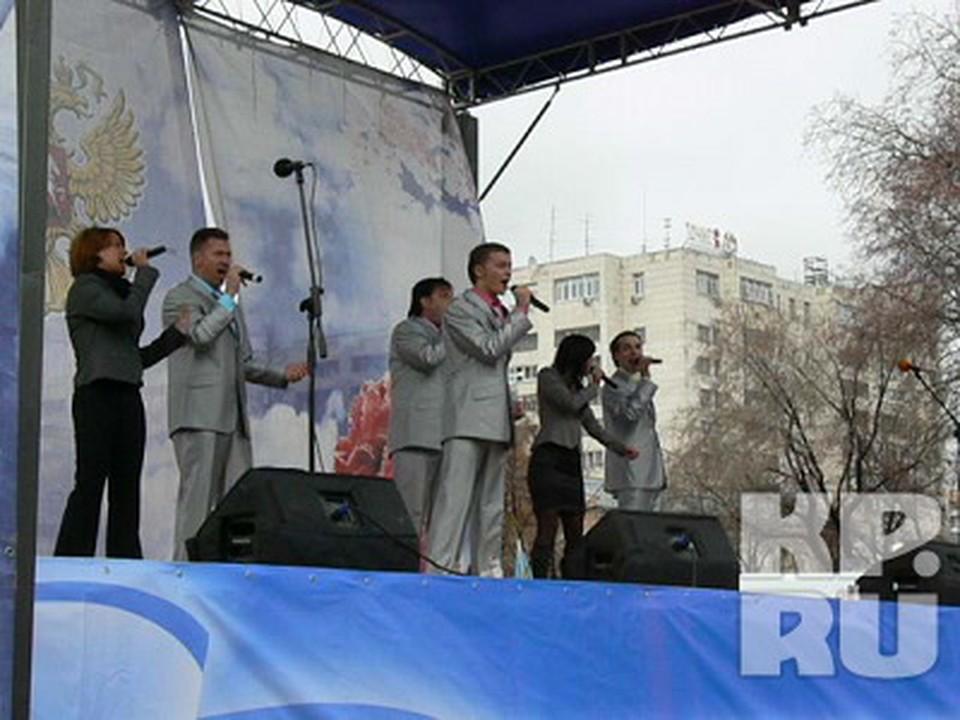 День народного единства в Тюмени