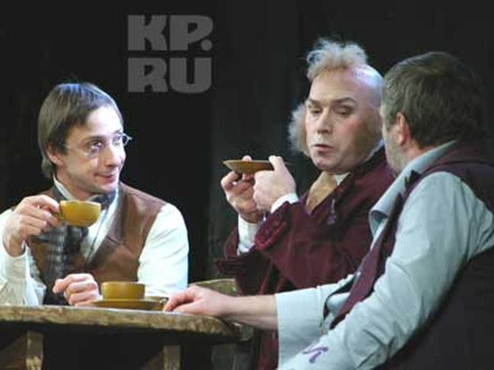 На сцене театра драмы