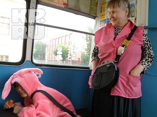 Заяц в автобусе картинки
