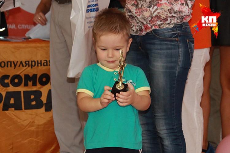 Победитель в старшей возрастной группе Святослав Рудыка. Фото: Максим ГОЛОВАНЬ