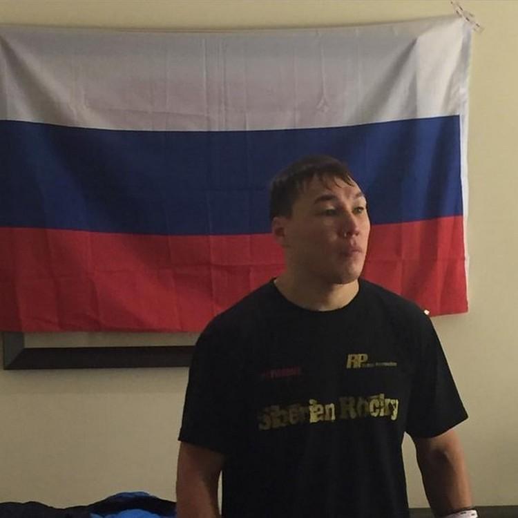Руслан Проводников после победы. Фото - официальная страница боксера.